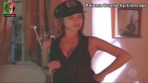 Paloma Duarte sensual na novela Luz do Sol