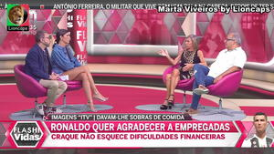 Marta Viveiros sensual na Cmtv