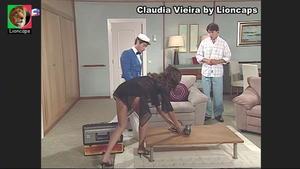 Claudia Vieira sensual na novela Maré Alta