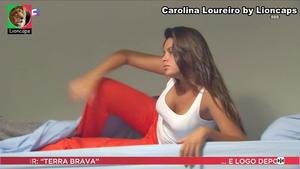 Carolina Loureiro sensual na novela Nazaré