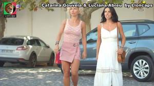 Catarina Gouveia e Luciana Abreu sensuais na novela Terra Brava