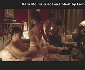 Vera Moura e Joana Boleat nuas no filme Parque Meyer
