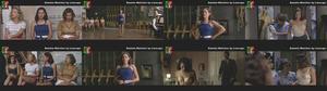 Daniela Melchior sensual no filme Parque Mayer