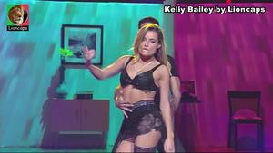 Kelly Bailey super sensual no Dança com as estrelas