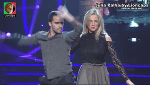 Julia Palha sensual dança com as estrelas