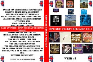Mp3 New Weekly Releases 47 (2018)