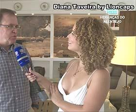 Diana Taveira a sensual reporter da Rtp