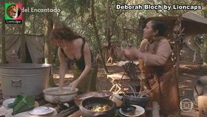 Deborah Bloch sensual na novela Cordel Encantado