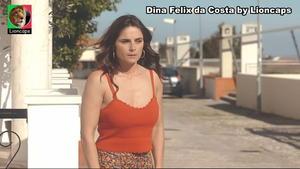 Dina Felix Costa sensual na serie Amar depois de Amar