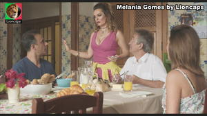 Melania Gomes sensual no filme Ladrões de Tuta e Meia