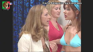 Carla Salgueiro sensual na serie Maré Alta