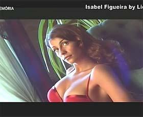 Isabel Figueira super sensual numa sessão fotográfica para a triumph no passado