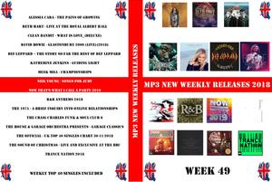 Mp3 New Weekly Releases 49 (2018)