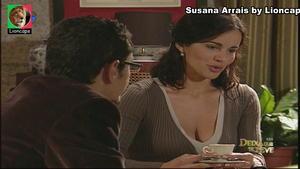 Susana Arrais sensual em vários trabalhos