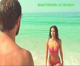 Isabel Valadeiro super sensual na novela Valor da Vida