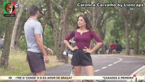 Carolina Carvalho sensual na novela Vidas Opostas