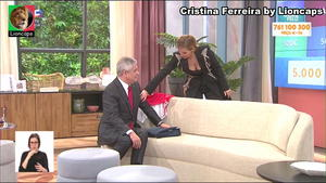 Cristina Ferreira sensual na estreia na Sic